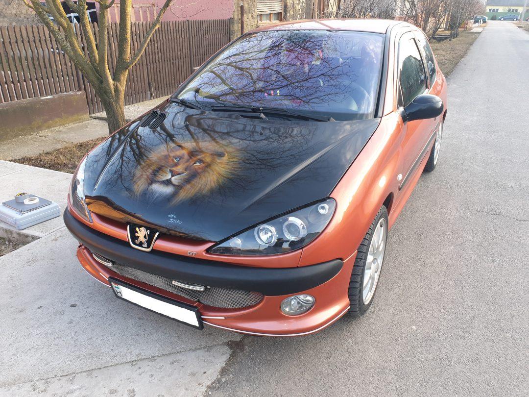 Peugeot 206 GTI Chiptuning
