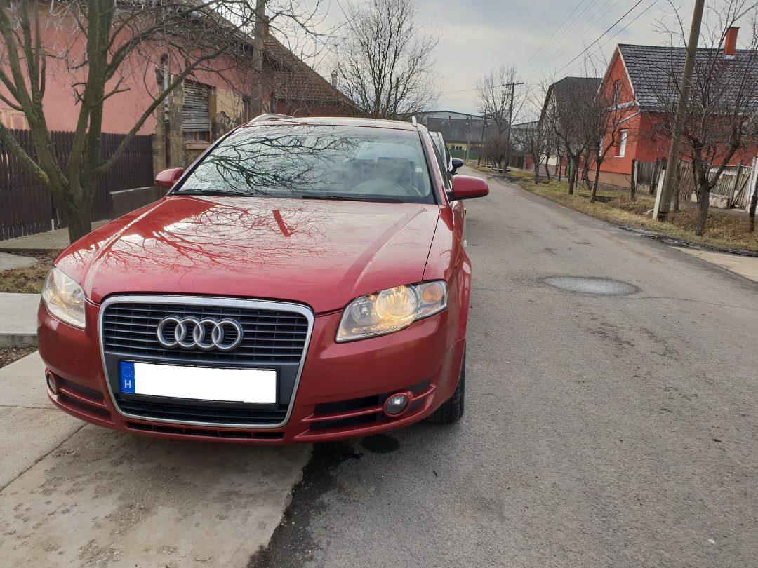 Audi A4 2.0TDI Chiptuning+DYNO Teljesítménymérés