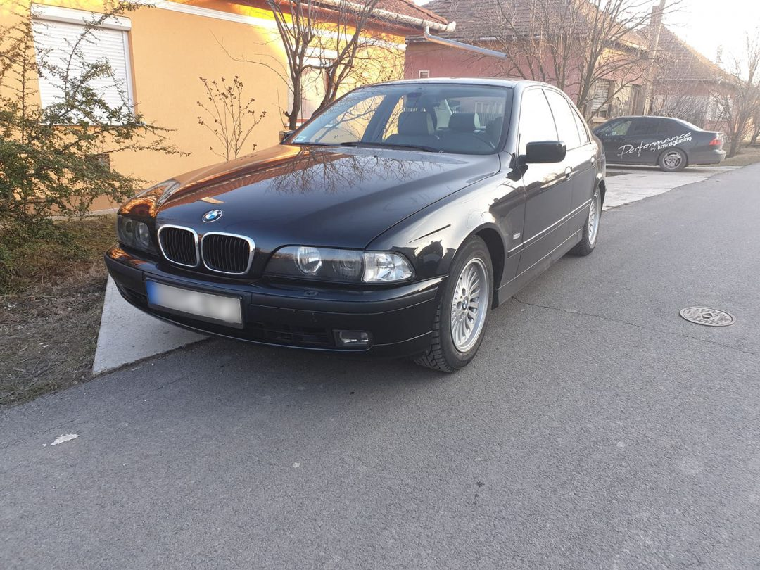 BMW E39 530D Chiptuning